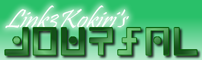 Link3Kokiri's Journal!